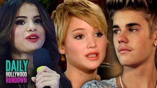 Justin Bieber Crying Over Selena Gomez? Jennifer Lawrence Hates the Word FAT!