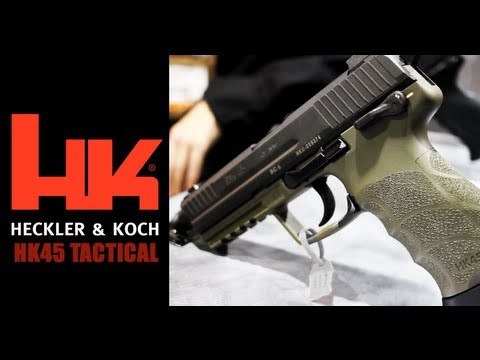 HK45 Tactical Pistol