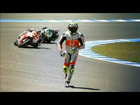 motion - The best super slow motion footage from the 2014 Gran Premio bwin de España, round four of the season at the new Jerez circuit. See more: http://bit.ly/MotoG...