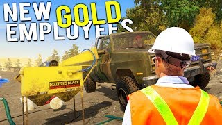 Video Our NEW GOLD MINING EMPLOYEES! BIGGEST GOLD HAUL YET! - Gold Rush Full Release Gameplay MP3, 3GP, MP4, WEBM, AVI, FLV Oktober 2017