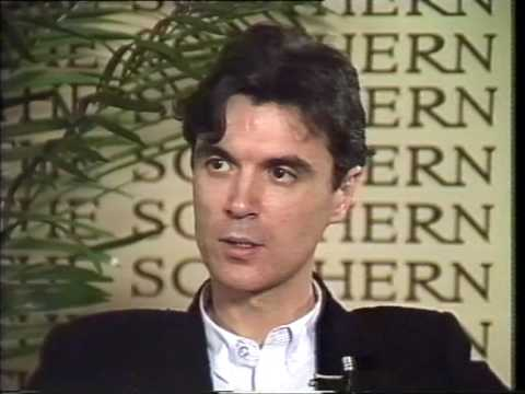 Talk Show - David Byrne