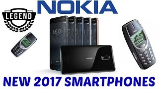 Nokia 6, 5 and 3 Hands On: The Legend is Finally Back! These are brand new Nokia 2017 phones that will be soon released internationally. The Nokia 6 will retail in Europe starting at €229. The Nokia 5 will start from €189, while the cheapest Nokia 3, will cost just €139.  ↓↓↓↓↓↓↓↓↓↓↓ CLICK SHOW MORE for more information! ↓↓↓↓↓↓↓↓↓↓↓-----------------------------------------------------------------------------------------------Welcome to TechLineHD. I review tech products that I love. Official TechLineHD email: techlinehd@gmail.comSUBSCRIBE TO THE CHANNEL: http://geni.us/OISk https://www.youtube.com/c/techlinehd -----------------------------------------------------------------------------------------------Support my channel by shopping on Amazon using my link: http://geni.us/YAqYYTD-----------------------------------------------------------------------------------------------100% RELIABLE websites to buy from China:Gearbest: https://goo.gl/JHQNvABanggood: https://goo.gl/gX7SycTomtop: https://goo.gl/u7gtKyEverbuying: https://goo.gl/3048mvChinavasion: https://goo.gl/K1Onav-----------------------------------------------------------------------------------------------CHECK OUT THESE VIDEOS:The Best Smartphone You've Never Heard Of (2016) - Nubia Z11 Review (4k): https://youtu.be/U8lO02DpqyoOnePlus 3T Review - The Best $439 Smartphone?: https://youtu.be/lSAjwXlbgQ8Xiaomi Redmi 4 Prime Review - Awesome Budget Smartphone. Again.: https://youtu.be/otJ_e1VZsMYThe Most Underrated Cheap Android Phablet? PPTV King 7 Review:https://youtu.be/tu1NFw0VJAw-----------------------------------------------------------------------------------------------Follow me on social networks:Facebook: www.facebook.com/TechlineHDTwitter: @TechlineHDGoogle+: +TechLineHDInstagram: techlinehd-----------------------------------------------------------------------------------------------The camera gear that I use to produce my videos:CAMERAS:1. Panasonic G7 with 14-140 mm Lens Kit:  http://geni.us/Rlwng2.