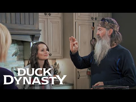 Duck Dynasty 8.01 Clip 'Marriage Advice for Mary Kate'