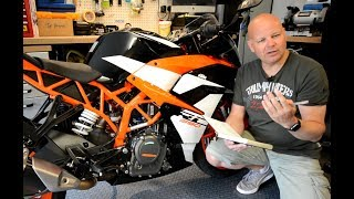 3. Living with the 2017 KTM RC390 - Long Term Review