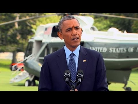 sanctions - President Barack Obama responds to Russia's actions in Ukraine following the crash of Malaysia Airlines MH17.