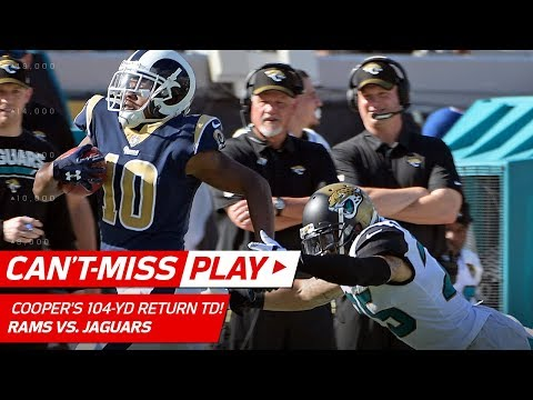 Video: Pharoh Cooper's 104-Yd Kick Return TD! | Can't-Miss Play | NFL Wk 6 Highlights