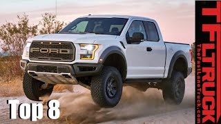 Top 8 New 2017 Trucks & Beyond: The Most Anticipated Pickup We Can't Wait to Drive by The Fast Lane Truck