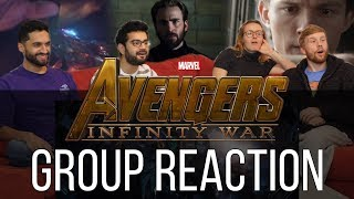 Video Disney's Marvel's Avengers Infinity War Official Trailer Group Reaction! MP3, 3GP, MP4, WEBM, AVI, FLV Januari 2018