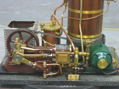 Model Steam Engine with Generator