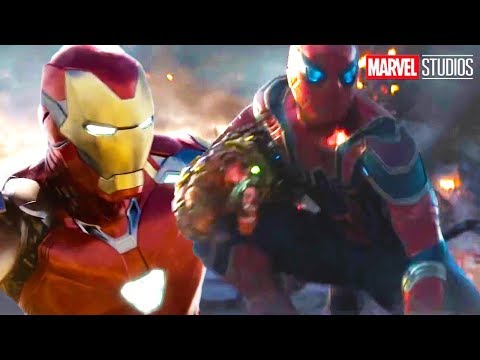 Avengers Endgame Final Battle Deleted Scene - Iron Man Spider-Man Alternate Ending Breakdown