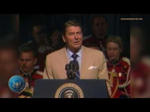 President Reagan's Remarks to American Bar Association - 7/8/85