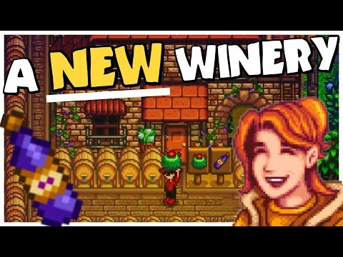 Robin Sells a NEW WINERY Building!| *BEST MOD EVER!* - Stardew Valley 1.3