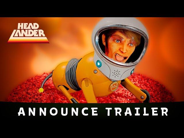 Видео к игре Headlander