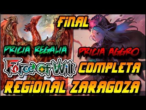 Force of Will  Zaragoza Regional GP Final COMPLETA