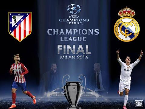 Real Madrid vs Atlético de madrid en la final  de Champions League en vivo  por internet 2016