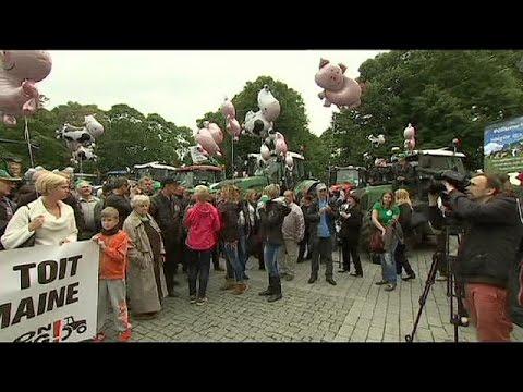 Εσθονία: Διαδήλωση αγροτών έξω από το κοινοβούλιο