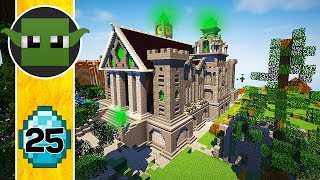 DESTRUCTION!!! Transform a Minecraft Village into a Town E25
