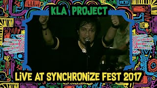 Video KLA Project live at SynchronizeFest - 8 Oktober 2017 MP3, 3GP, MP4, WEBM, AVI, FLV April 2019