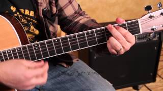 Easy Songs on Acoustic Guitar - How to Play Ramblin' Man by the Allman Brothers
