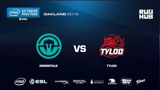 IEM Oakland - Immortals vs TyLoo - de_mirage - [ceh9]