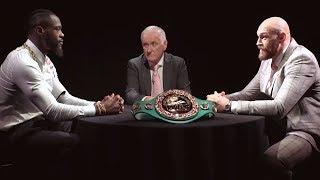 Face Off: Deontay Wilder v Tyson Fury