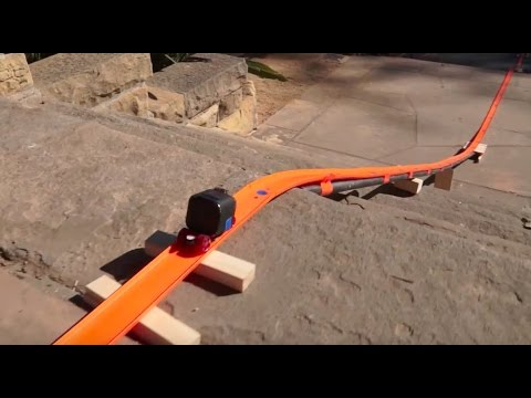 Hot Wheels Stairs Track