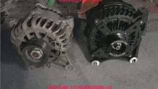 LIFTED F150 GETS A MECHMAN 250 AMP ELITE SERIES ALTERNATOR INSTALLED!