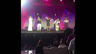 Clark Sisters' Tribute @ Essence Fest 2016