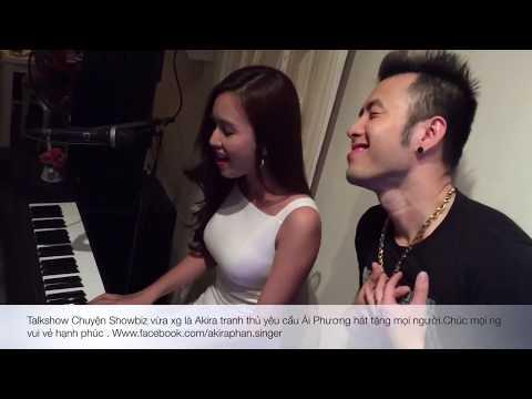 Ca sĩ MC dễ thương Ái Phương cover bài Trót Yêu