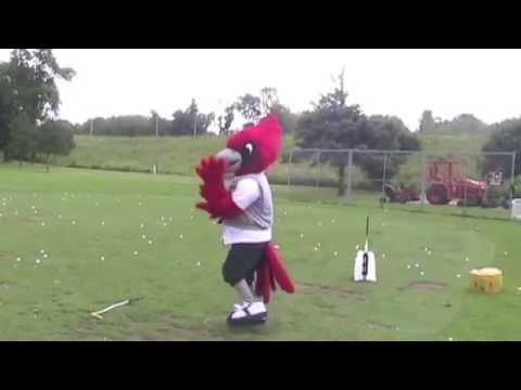 Rusty's First Golf Lesson
