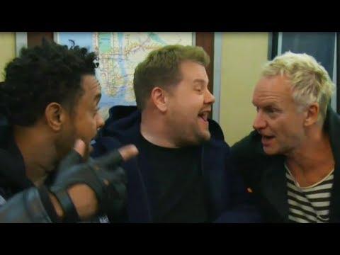 James Corden's Subway Karaoke FAIL At 2018 Grammy Awards