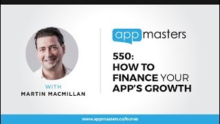 Join us at the next App Masters Connect:http://appmastersconnect.com/Coming up is the presentation from our App Masters Connect Vegas with Pollen VC's founder Martin Macmillan. You will discover how to accelerate your app's growth with their platform along with a very cool financial forecasting tool to help you determine your app's success.Martin Macmillan is the CEO and Co-Founder at Pollen VC.