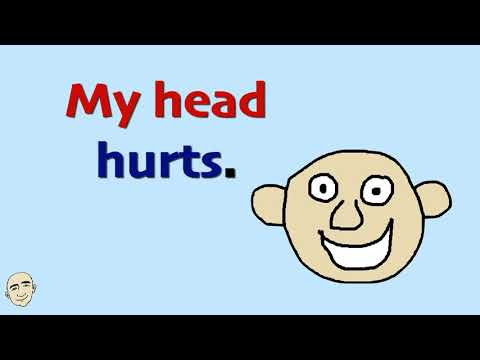 Frases cortas - How Can I Help You? - Aches and Pains About Our Body  Set 2  English Speaking Practice  ESL