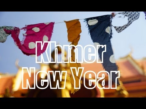 Celebrating Khmer New Year in Battambang, Cambodia