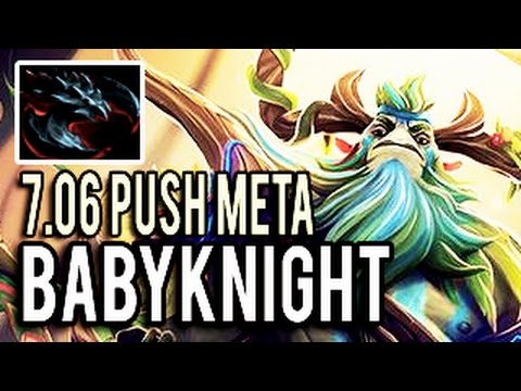 Anti-Push Meta 7.06 Satanic Furion ► Insane Comeback is Real !!! BabyKnight 7,8k MMR Dota 2