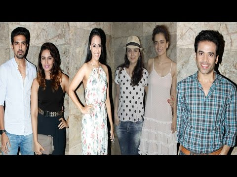 Preity Zinta, Huma Qureshi, & Others At Screening of Film Tanu Weds Manu Returns