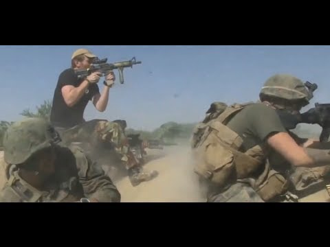 BRITISH SAS AND US MARINES IN FIREFIGHT WITH TALIBAN 2011