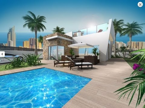 New villas in high-tech style in the suburb of Benidorm - Finestrat from 295.000 euros