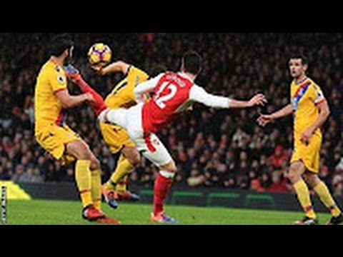 Arsenal Vs Crystal Palace 2-0 - All Goals & Highlights - EPL 01/01/2017