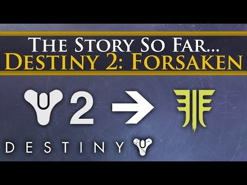 The Complete Story Of Destiny 2 So Far - Story & Lore You Need Before Forsaken!