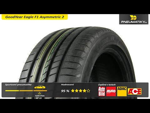 Youtube GoodYear Eagle F1 Asymmetric 2 225/45 R17 94 Y XL Letní