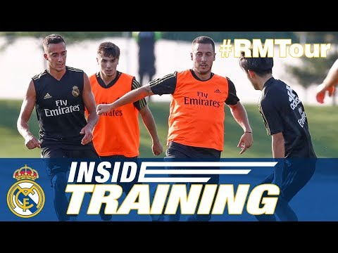 Real Madrid Third Pre-season Training Montreal!