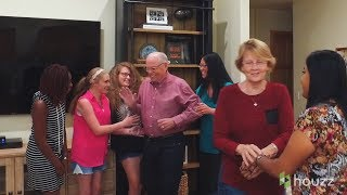 Our Houzz: 14 Adoptees Surprise Mom and Dad with New Family Room