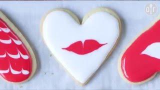 Décorer des sablés pour Saint Valentin