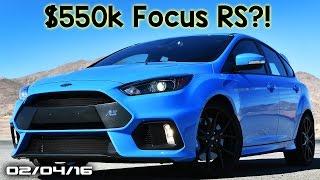 $550k Ford Focus RS, Hyundai Ryan Reynolds Ad, Ferrari FF Tease -  Fast Lane Daily
