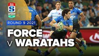 Western Force v NSW Waratahs Rd.9 2021 Super rugby AU video highlights