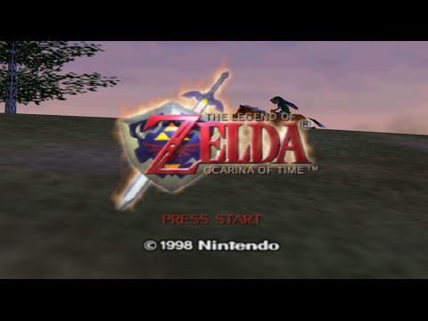 the legend of zelda ocarina of time nintendo 64 part 1