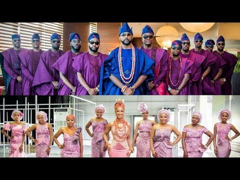 BankyW And Adesua Etomi Wedding #BAAD2017 - Nollywood Couple