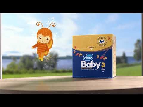 Valio представляет новый рекламный ролик детского питания Valio Baby