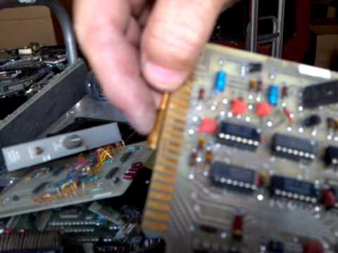 How To Identify GOLD, Brass, Painted Gold, etc. In Electronic Circuit Boards